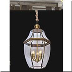 Đèn Thả Đồng KP1 DCAD6001/3 Ø350x430