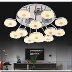 Đèn Trần Nghệ Thuật KP4 X58001-8+4+1 Ø800x330