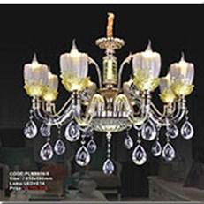 Đèn Chùm Pha Lê Nến KP4 PLN9906/8 Ø850x680