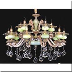 Đèn Chùm Pha Lê Nến KP4 PLN6018/10+5 Ø1050x780