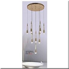 Đèn Thả Led Thông Tầng KP4 DY2003/10 Ø500x1500