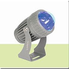 Đèn chiếu tường HP3 RN 08 XANH DUONG -10W Ø70xW140xH150