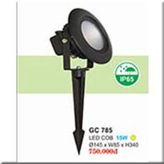 Đèn Ghim Cỏ HP1 GC 785 Ø145xW85xH340