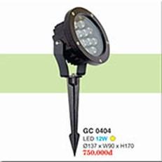 Đèn Ghim Cỏ HP1 GC 0404 Ø137xW90xH170