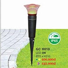 Đèn Ghim Cỏ HP1 GC H010 7 màu Ø70xH310