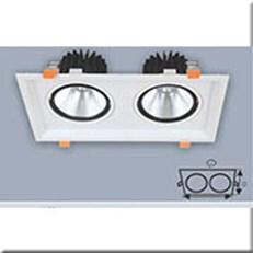 Đèn LED Âm Trần ANFACO AFC 762/2 7W x2
