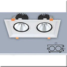 Đèn LED Âm Trần ANFACO AFC 762/2 24W