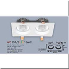Đèn LED Âm Trần ANFACO AFC 757/2