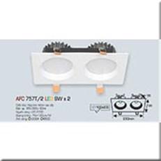 Đèn LED Âm Trần ANFACO AFC 757T/2