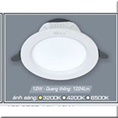 Đèn LED Âm Trần ANFACO AFC 652T 12W