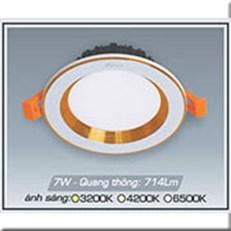 Đèn LED Âm Trần ANFACO AFC 441V 7W 3 CHẾ ĐỘ