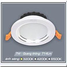 Đèn LED Âm Trần ANFACO AFC 528B 9W 3 CHẾ ĐỘ