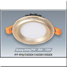 Đèn LED Âm Trần ANFACO AFC 435V 12W 3 CHẾ ĐỘ