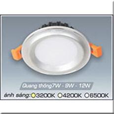 Đèn LED Âm Trần ANFACO AFC 435B 7W