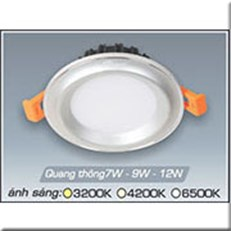 Đèn LED Âm Trần ANFACO AFC 435B 9W