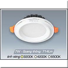 Đèn LED Âm Trần ANFACO AFC 435T 7W 3 CHẾ ĐỘ