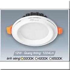 Đèn LED Âm Trần ANFACO AFC 435T 12W 3 CHẾ ĐỘ
