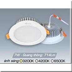 Đèn LED Âm Trần ANFACO AFC 417 7W