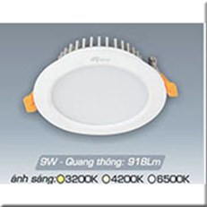 Đèn LED Âm Trần ANFACO AFC 417 9W
