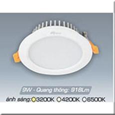 Đèn LED Âm Trần ANFACO AFC 417 9W 3 CHẾ ĐỘ