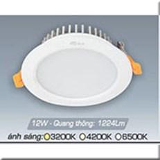 Đèn LED Âm Trần ANFACO AFC 417 12W 3 CHẾ ĐỘ