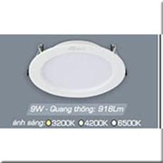 Đèn LED Âm Trần ANFACO AFC 674T 9W 3 CHẾ ĐỘ
