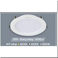 Đèn LED Âm Trần ANFACO AFC 674T 12W 3 CHẾ ĐỘ