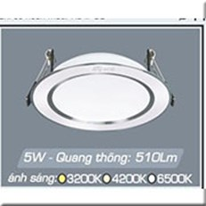 Đèn LED Âm Trần ANFACO AFC 674 5W