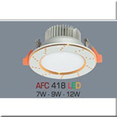 Đèn LED Âm Trần ANFACO AFC 418 12W