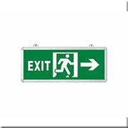 Đèn Lối Thoát Hiểm HP3 EXIT2 PHẢI 1 MẶT L355xW25xH145