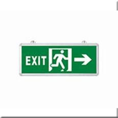 Đèn Lối Thoát Hiểm HP1 EXIT PHẢI 2 MẶT L355xW25xH145