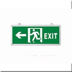 Đèn Lối Thoát Hiểm HP1 EXIT TRÁI 2 MẶT L355xW25xH145