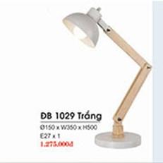 Đèn Bàn  HP1 ĐB 1029 TRẮNG Ø150xW350xH500
