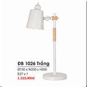 Đèn Bàn HP1 ĐB 1026 TRẮNG Ø130xW200xH550