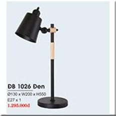 Đèn Bàn Làm Việc HP1 ĐB 1026 ĐEN Ø130xW200xH550