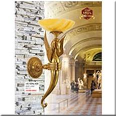 Đèn Vách Đồng Ngoài Trời HP1 VĐ 9296/400 Ø400xH880