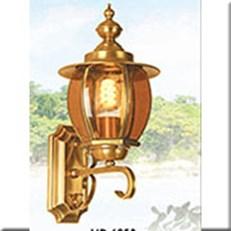 Đèn Vách Đồng Ngoài Trời HP1 VĐ 6053 Ø220xW210xH420