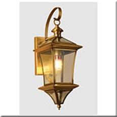 Đèn Vách Đồng Ngoài Trời HP1 VĐ 5051 Ø160xW210xH430