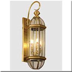 Đèn Vách Đồng Ngoài Trời HP1 VĐ 6007L L200xW200xH650