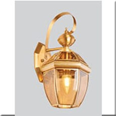 Đèn Vách Đồng Ngoài Trời HP1 VĐ 6001 L180xW200xH330
