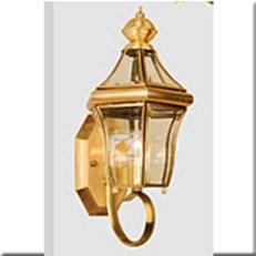 Đèn Vách Đồng Ngoài Trời HP1 VĐ 6052 L200xW200xH400