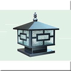Đèn Trụ Cổng HP1 HF-03C 300x300xH300