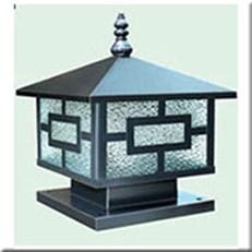 Đèn Trụ Cổng HP1 HF-03E 400x400xH350