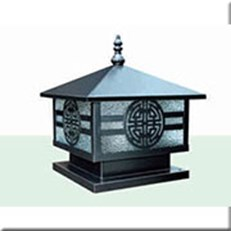 Đèn Trụ Cổng HP1 HF-02A 200x200xH250