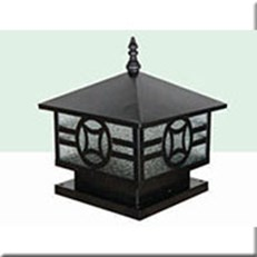 Đèn Trụ Cổng HP1 HF-05B 250x250xH250