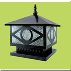 Đèn Trụ Cổng HP1 HF-04D 350x350xH350
