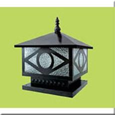 Đèn Trụ Cổng HP1 HF-04E 400x400xH350