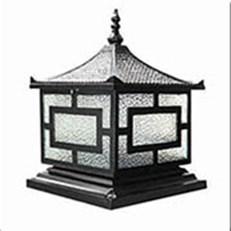 Đèn Trụ Cổng HP1 HF-014B 300x300xH350