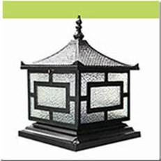Đèn Trụ Cổng HP1 HF-014C 350x350xH400