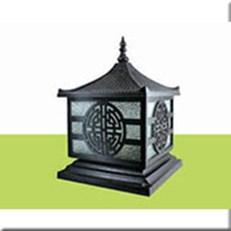 Đèn Trụ Cổng HP1 HF-015A 250x250xH300